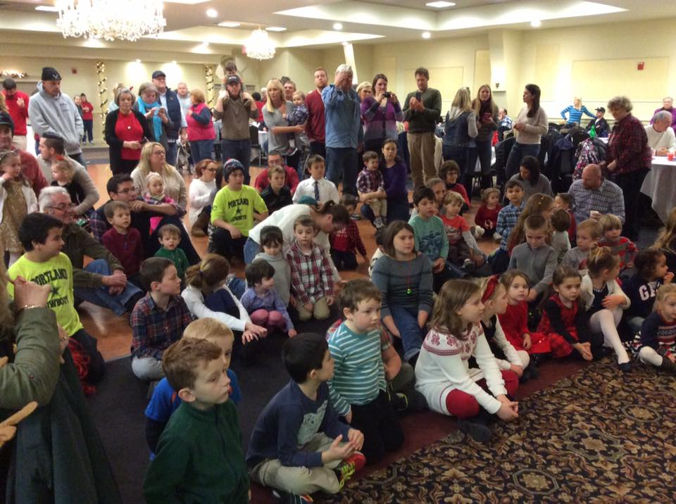 Annual Children's Christmas Party – Santa recites Night before Christmas