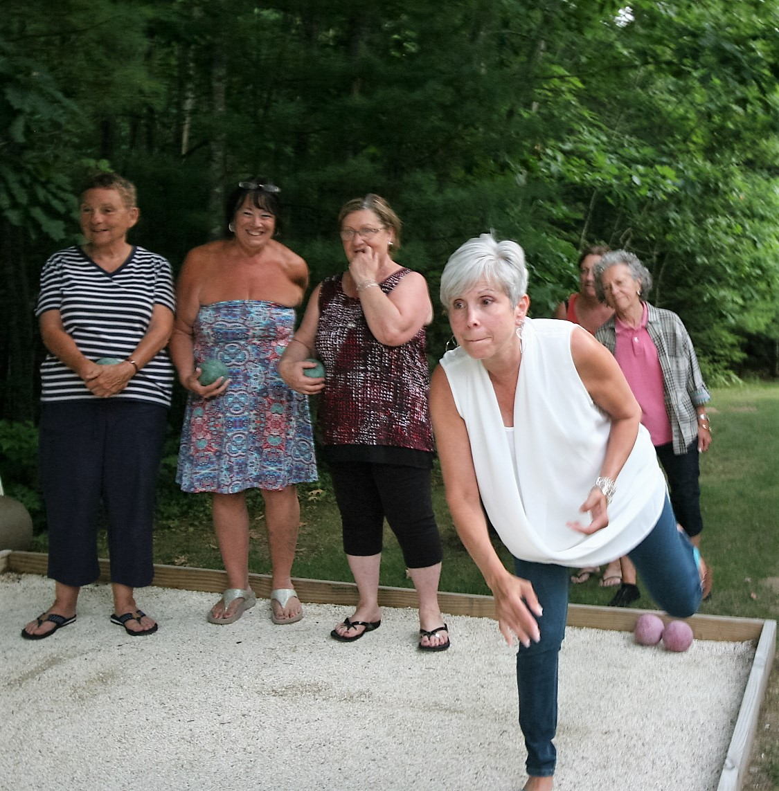 Bocce Girls